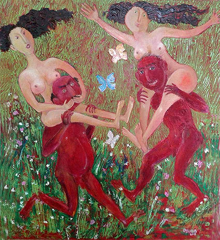 ZAKIR AHMEDOV. Springtime 2016year 88x78cmOriginal Painting Oil on Canvas5500$ - photo 1