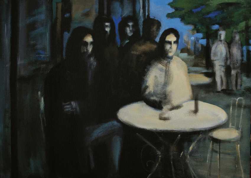 Constantine Malyutin. Cafe Moscow - photo 1
