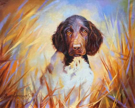 "Svetlana Zhigimont. The painting ""On the hunt"" - photo 1"