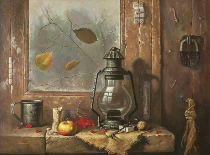 Oleg Khoroshilov. Still life with lamp - photo 1