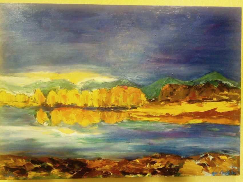 liudmila boichuk. The malachite mountains in the Golden crown of autumn - photo 1