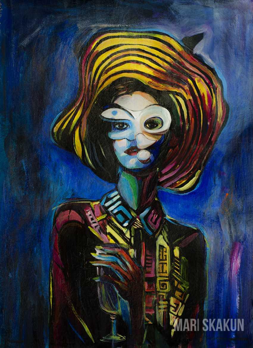 Mari Skakun-Belaya. MYSTICAL PORTRAIT OF A LADY - photo 1