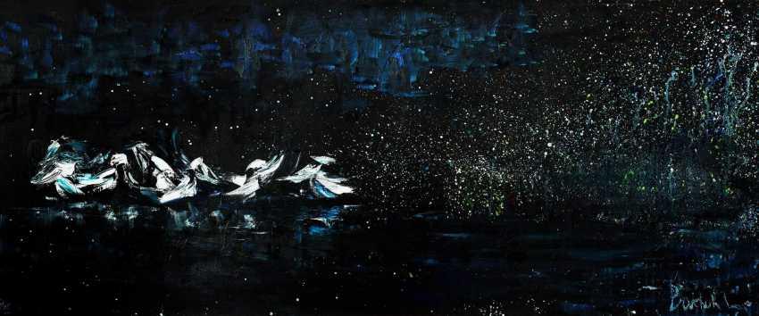 liudmila boichuk. Pelicans and night - photo 1
