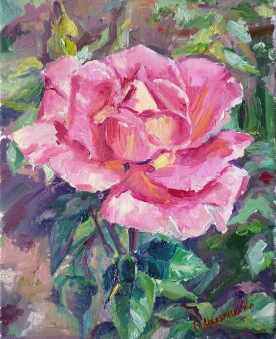 "Viktoria Melnikova. ""A rose in the garden"" - photo 1"