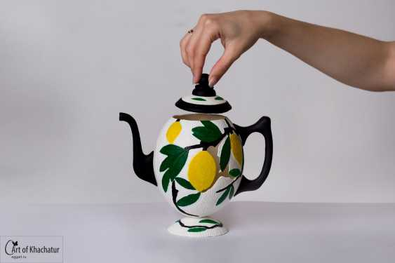 "khachatur bakhchoyan. kettle-""Lemon grove"" - photo 1"