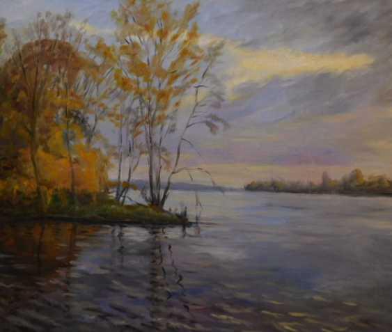 Viktor Zhukov. Autumn on the Dvina - photo 1