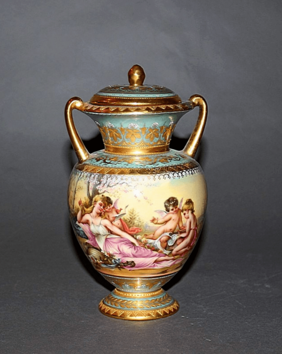 Vienna, the end of XIX century porcelain, painting - photo 2