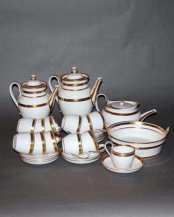 Vienna, beginning of the XIX century, porcelain, gilding, 28 items - photo 1