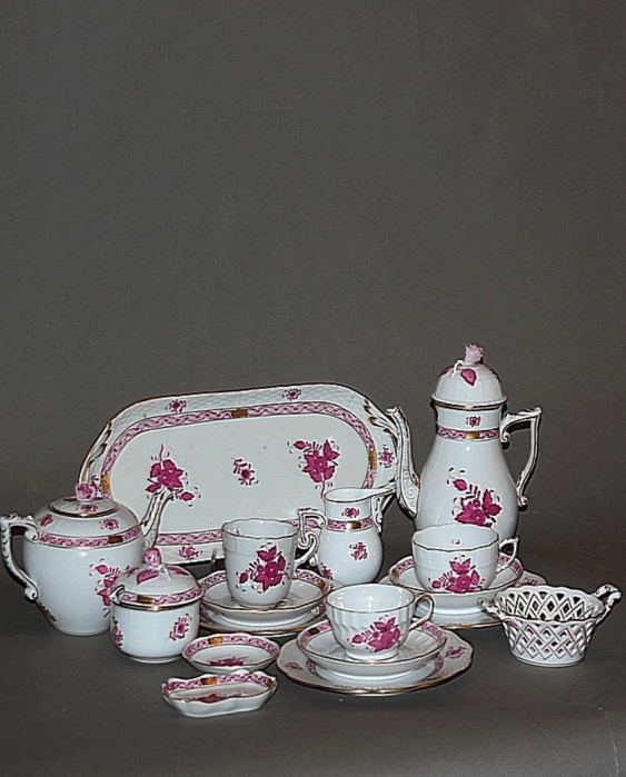 "Hungary, Herend, 1960 - 1970 - ies, porcelain, décor ""Apponyi"" or ""Apponyi Fleur"" - photo 1"
