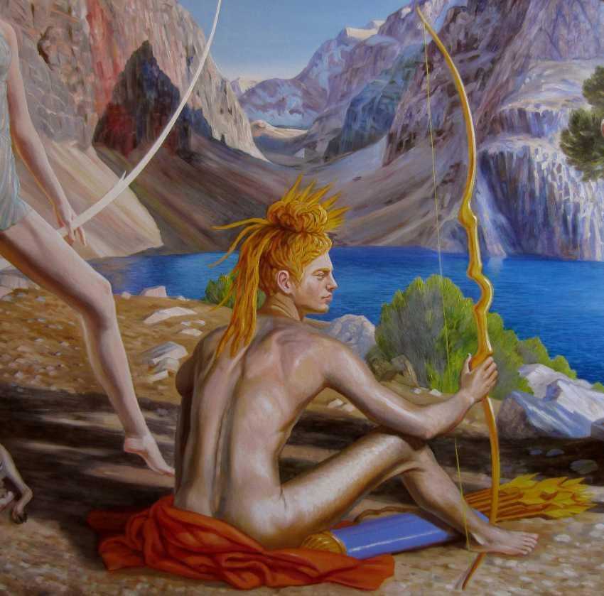 Mikhail Kartuzov. Earthly gods - photo 3