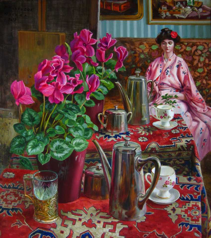 Mikhail Kartuzov. Still life with reflection - photo 2