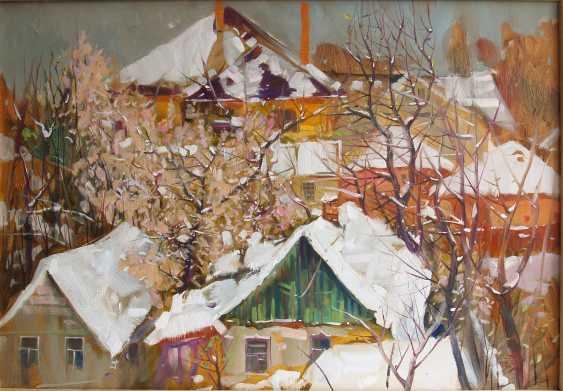 Viacheslav Shulika. Unexpected snow - photo 1