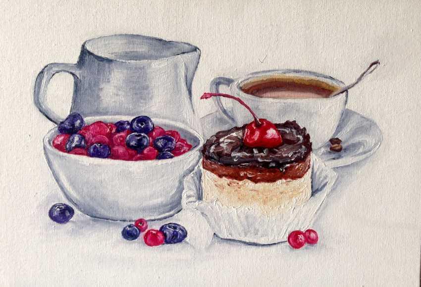 Anna Kozyreva. Breakfast - photo 1