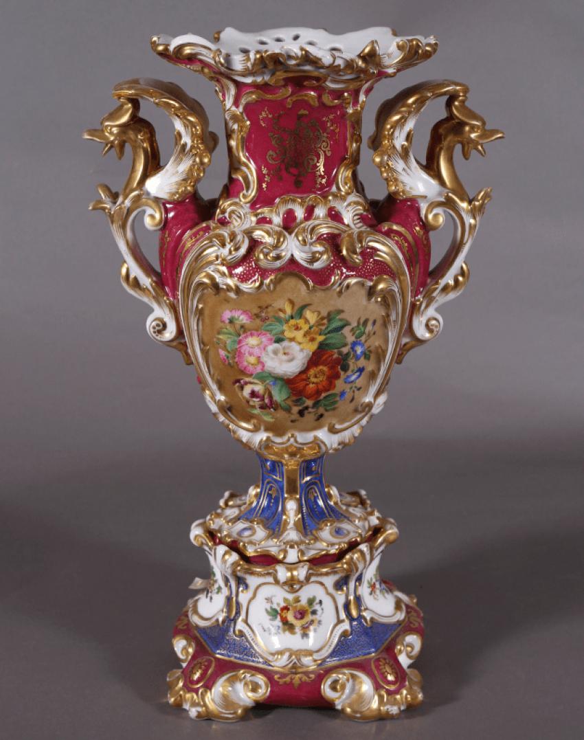 Vase, France, mid-nineteenth-century porcelain - photo 1