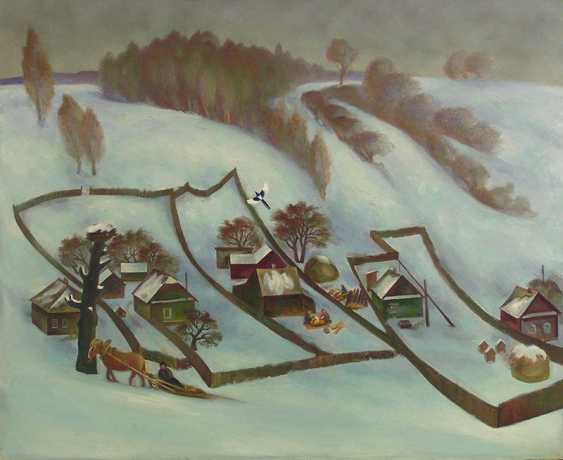 VALERY SIDORKIN. Winter village - photo 1