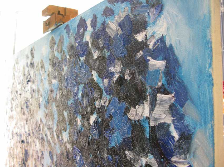 Andrey Vishnevskiy. Room 2, blue - photo 3