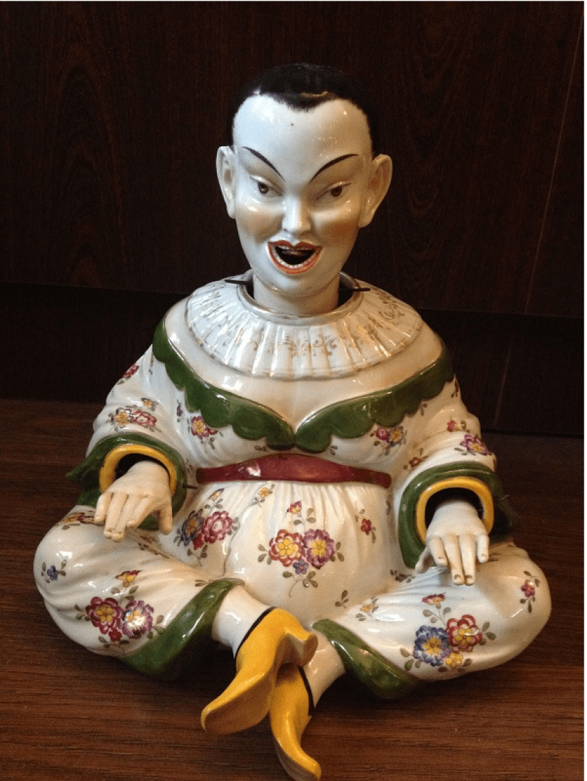 "Skulptur ""Chinesisch Dummkopf"" Pagode - Foto 1"