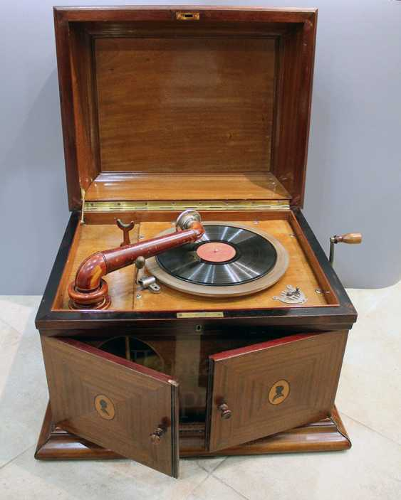 """Large vintage gramophone """"ANKER AMATI"""", Germany, early 20th century - photo 1"""