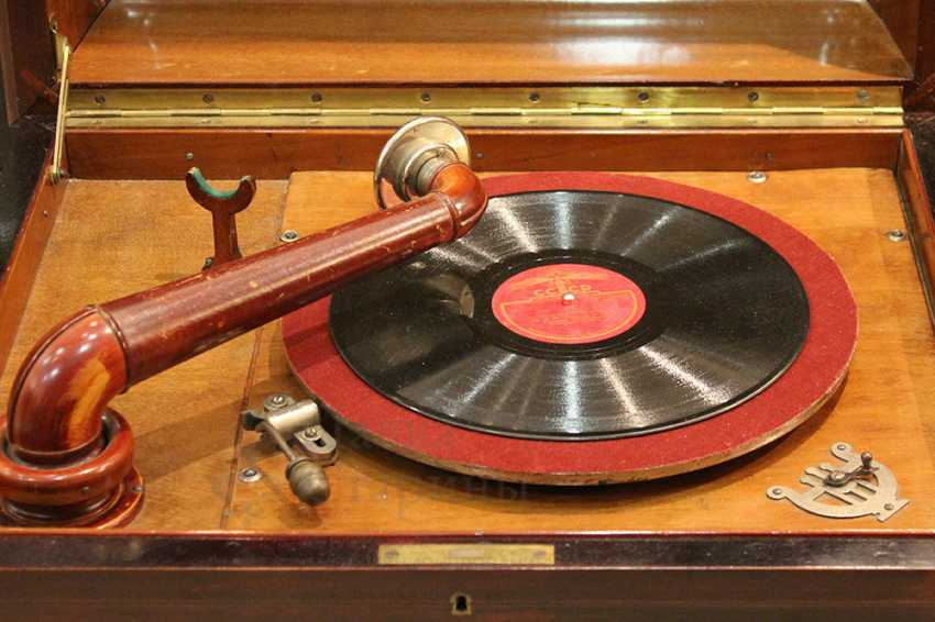 """Large vintage gramophone """"ANKER AMATI"""", Germany, early 20th century - photo 2"""