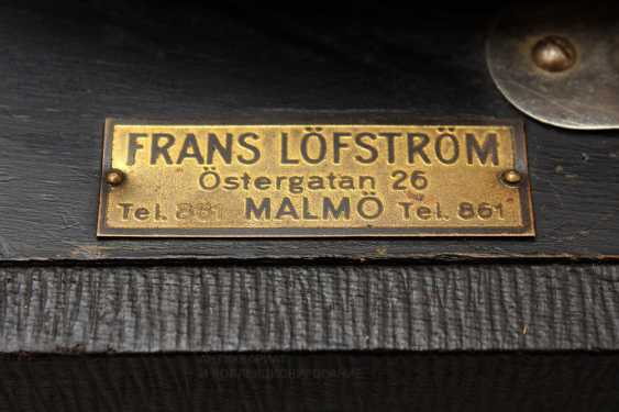 "Antique gramophone ""Polyphon Musik, Frans Lofstrom"", Sweden - photo 6"