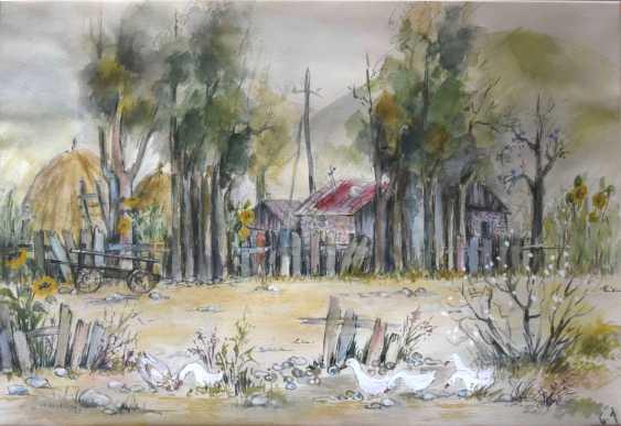 Natalia Qaliashvili. Rural landscape - photo 1