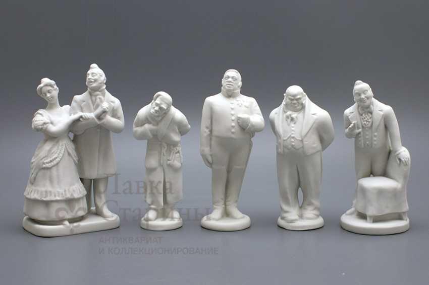 "Set ""Gogol's characters"" LFZ - photo 5"