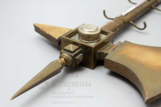 "Table-top device with ink and thermometer ""Hatchet"", Europe - photo 1"