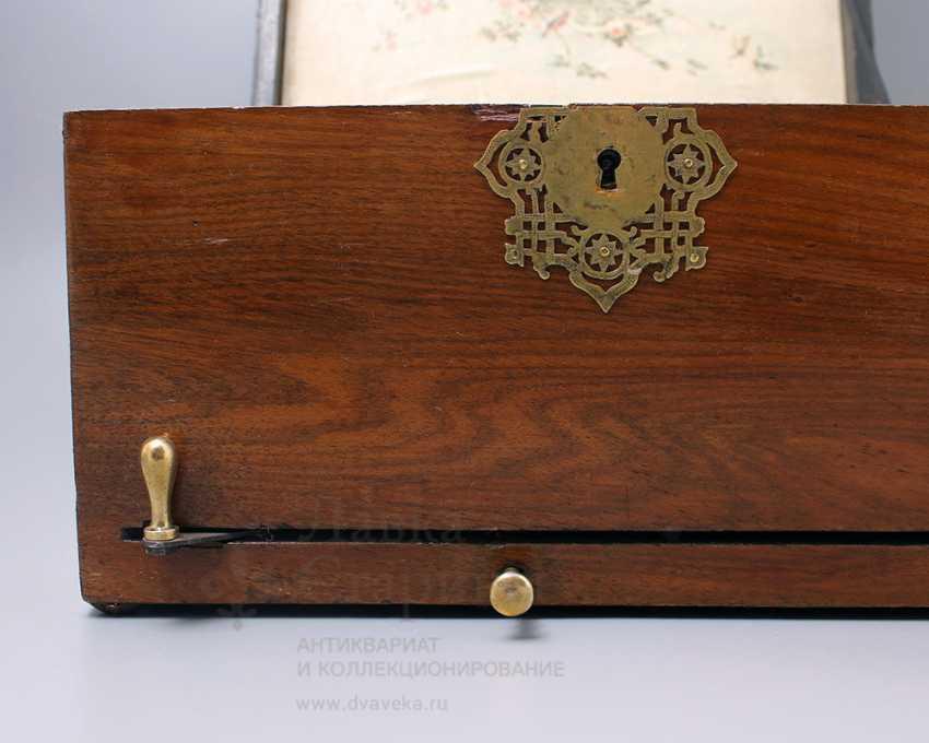 "Antique music box ""Polyphone"", Europe, con. 19th century - photo 3"