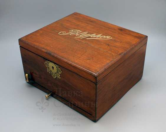 "Antique music box ""Polyphone"", Europe, con. 19th century - photo 4"