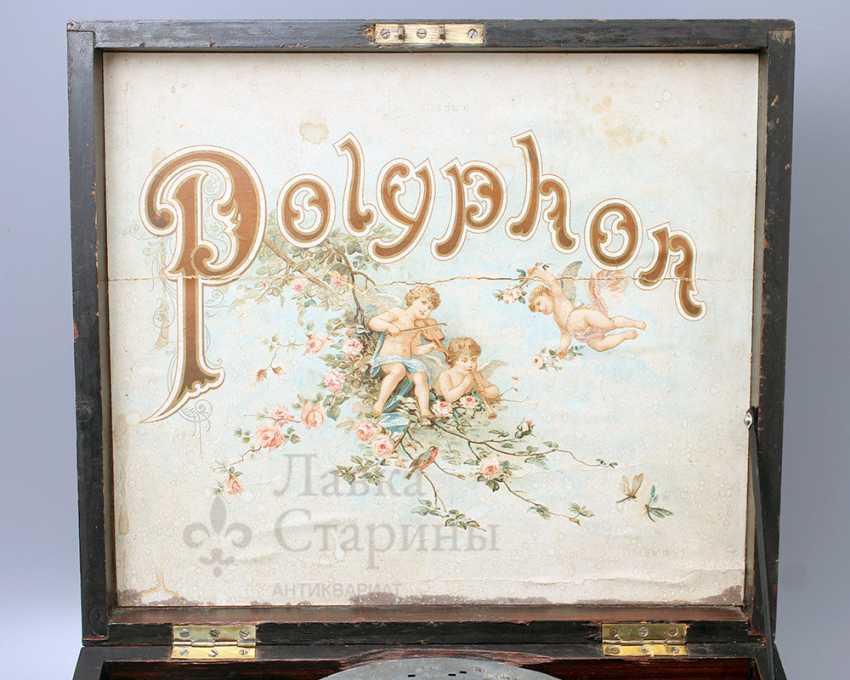 "Antique music box ""Polyphone"", Europe, con. 19th century - photo 1"