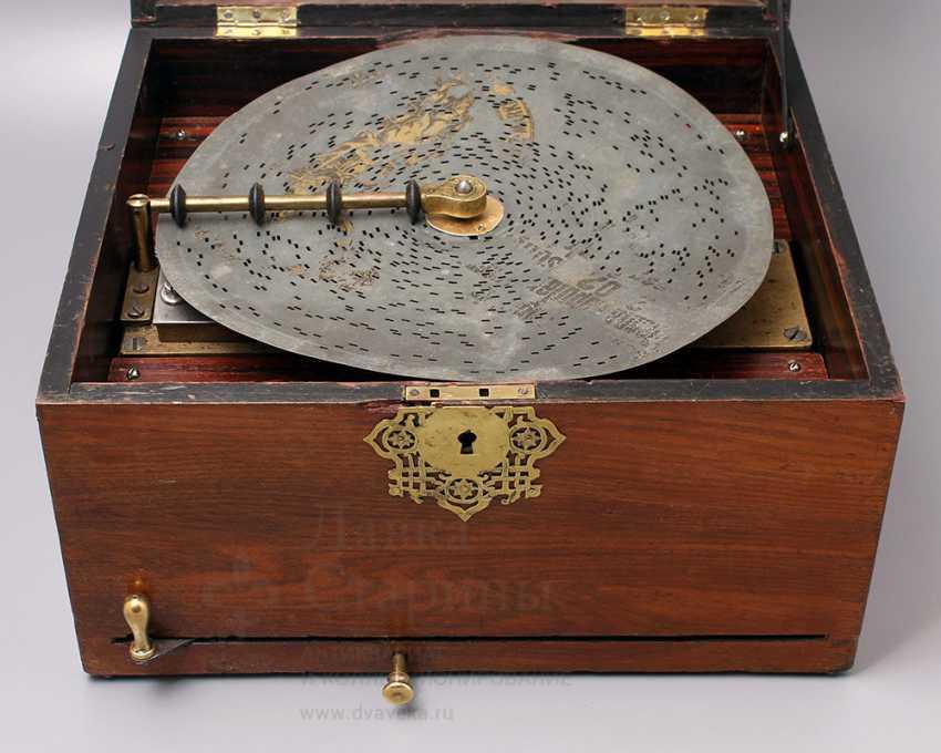 "Antique music box ""Polyphone"", Europe, con. 19th century - photo 7"