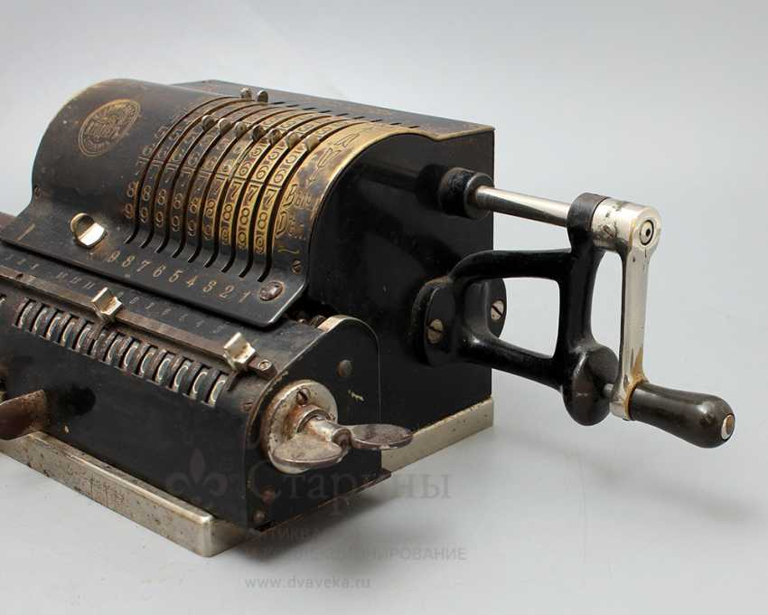 """Vintage calculator """"adding machine"""", Mechanical plant V. T. Ornery, St. Petersburg, early 20th century - photo 6"""