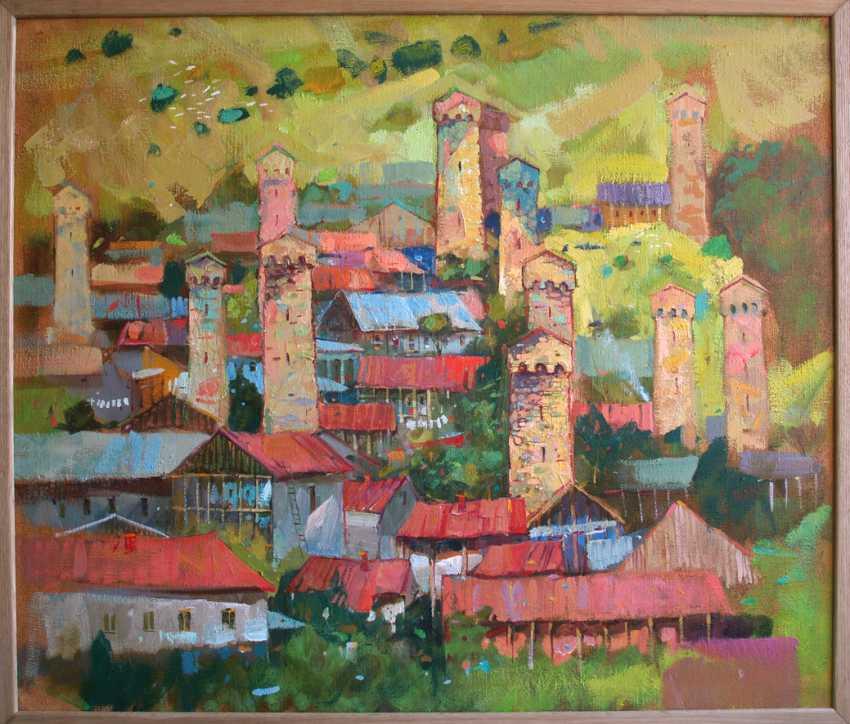 Viacheslav Shulika. Over Svaneti - photo 1