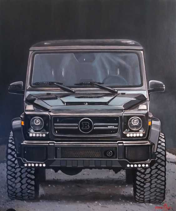 Katerina Pavelko. Original painting acrylic with Mercedes BRABUS - photo 1