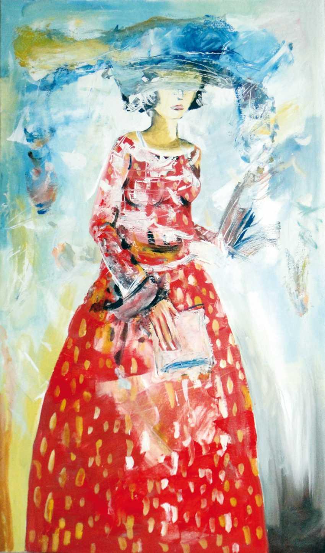Ildar Babich. The woman in red - photo 1