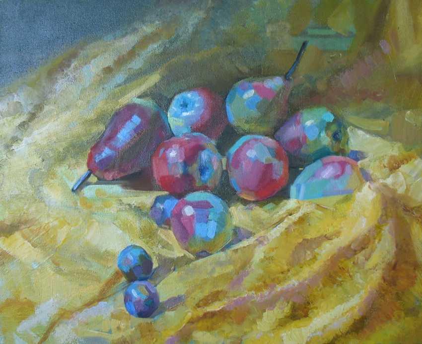 Volodymyr Korolievskyi. Still life with apples - photo 1