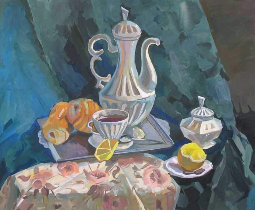 Volodymyr Korolievskyi. Coffee still life - photo 1