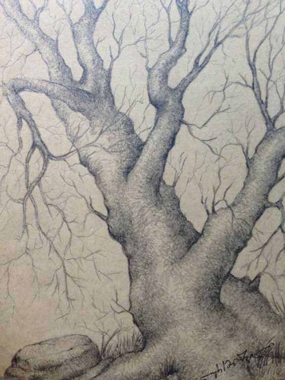 David Lursmanashvili. tree - photo 1