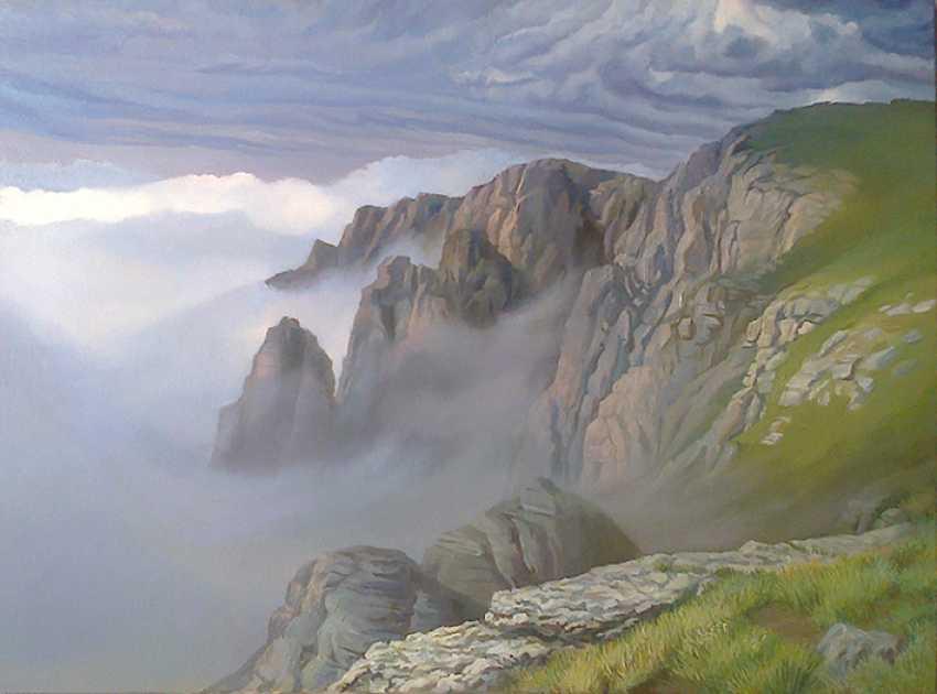 Svitlana Korolievskaia. Dawn in the mountains - photo 1
