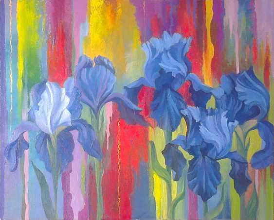 Svitlana Korolievskaia. Irises - photo 1