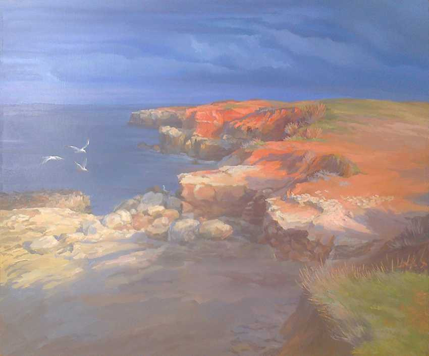 Svitlana Korolievskaia. Evening. Cossack Bay - photo 1