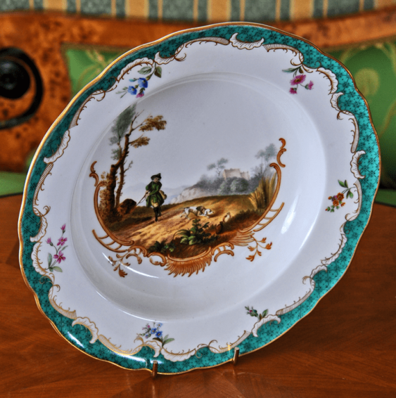 Deep plate, from Hunting service - photo 1