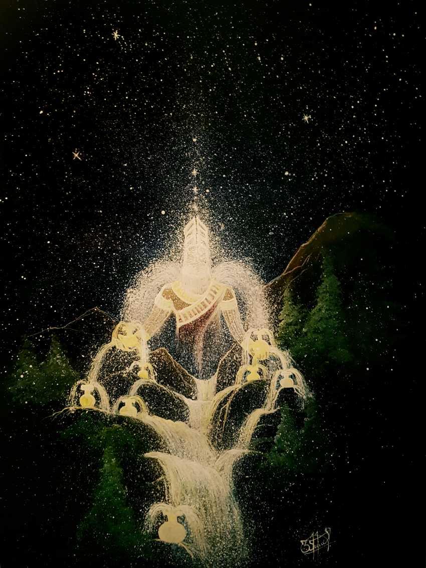 Манвел Метоян. Бог Энки - фото 1