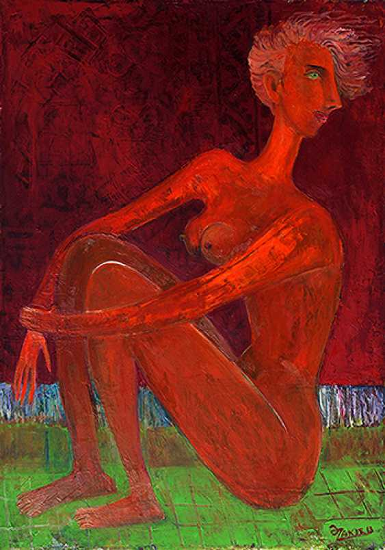 ZAKIR AHMEDOV. Youth 2013year 50x70 cm Original Painting Oil on Canvas4000$ - photo 1