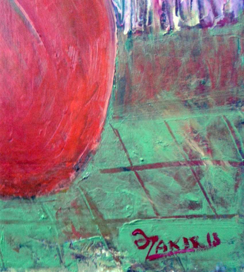 ZAKIR AHMEDOV. Youth 2013year 50x70 cm Original Painting Oil on Canvas4000$ - photo 2