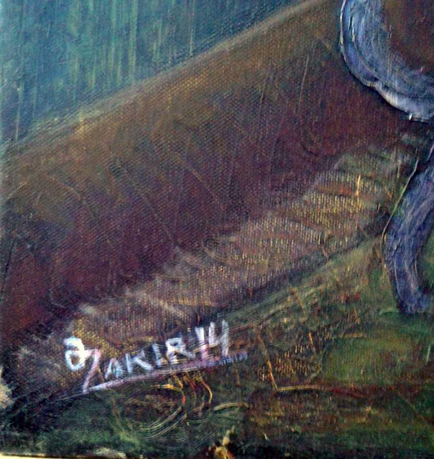 ZAKIR AHMEDOV. MEETIINC2013year oil on canvas 50x70 cm3500$ - photo 2