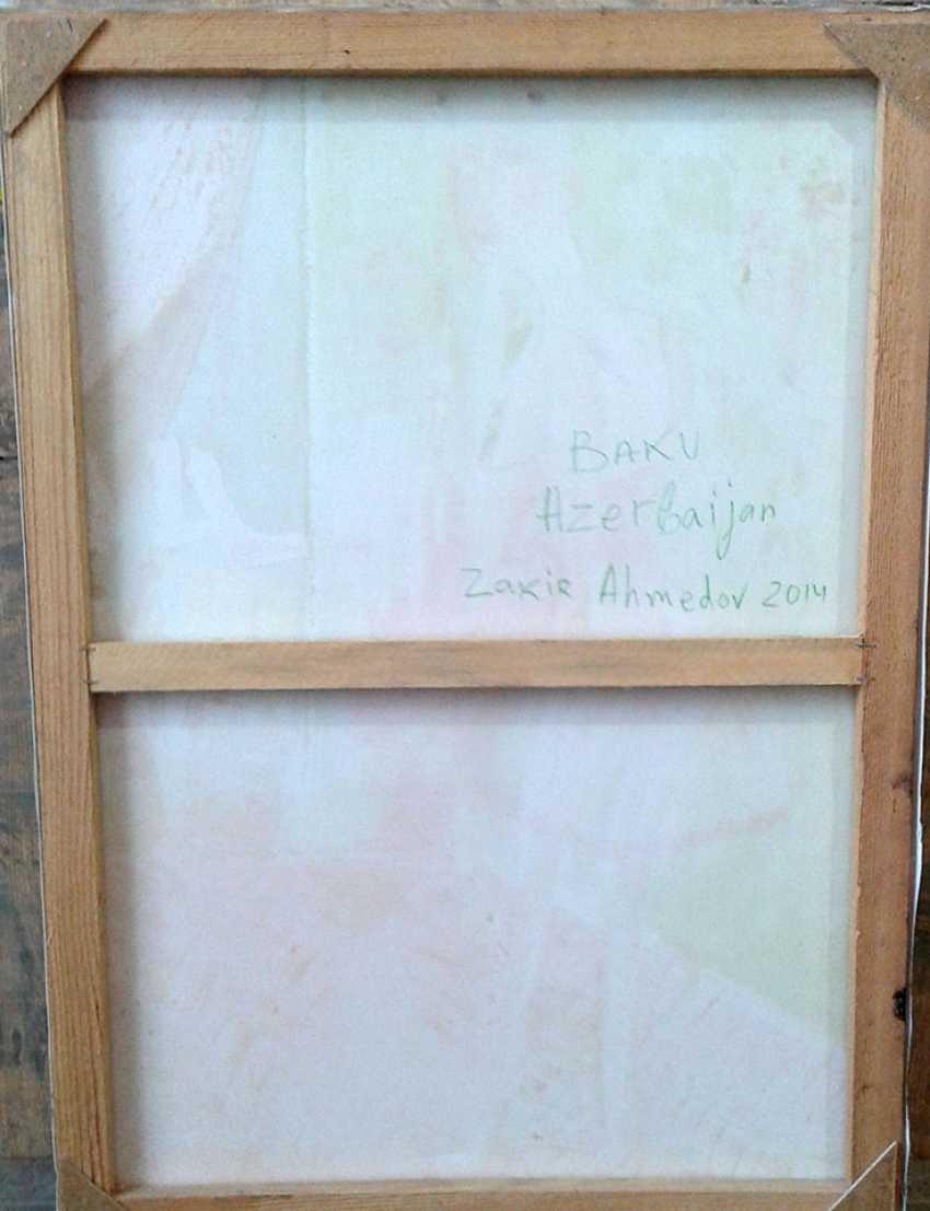 ZAKIR AHMEDOV. MEETIINC2013year oil on canvas 50x70 cm3500$ - photo 3