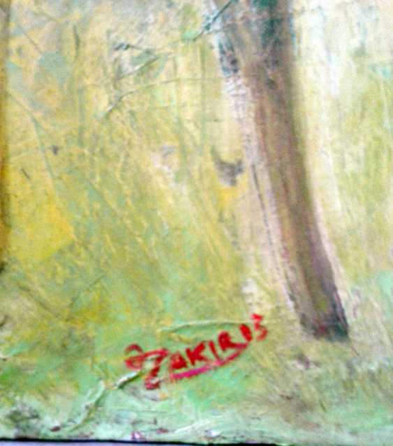 ZAKIR AHMEDOV. Meditation 2013year oil on canvas 50x70 cm3500$ - photo 2
