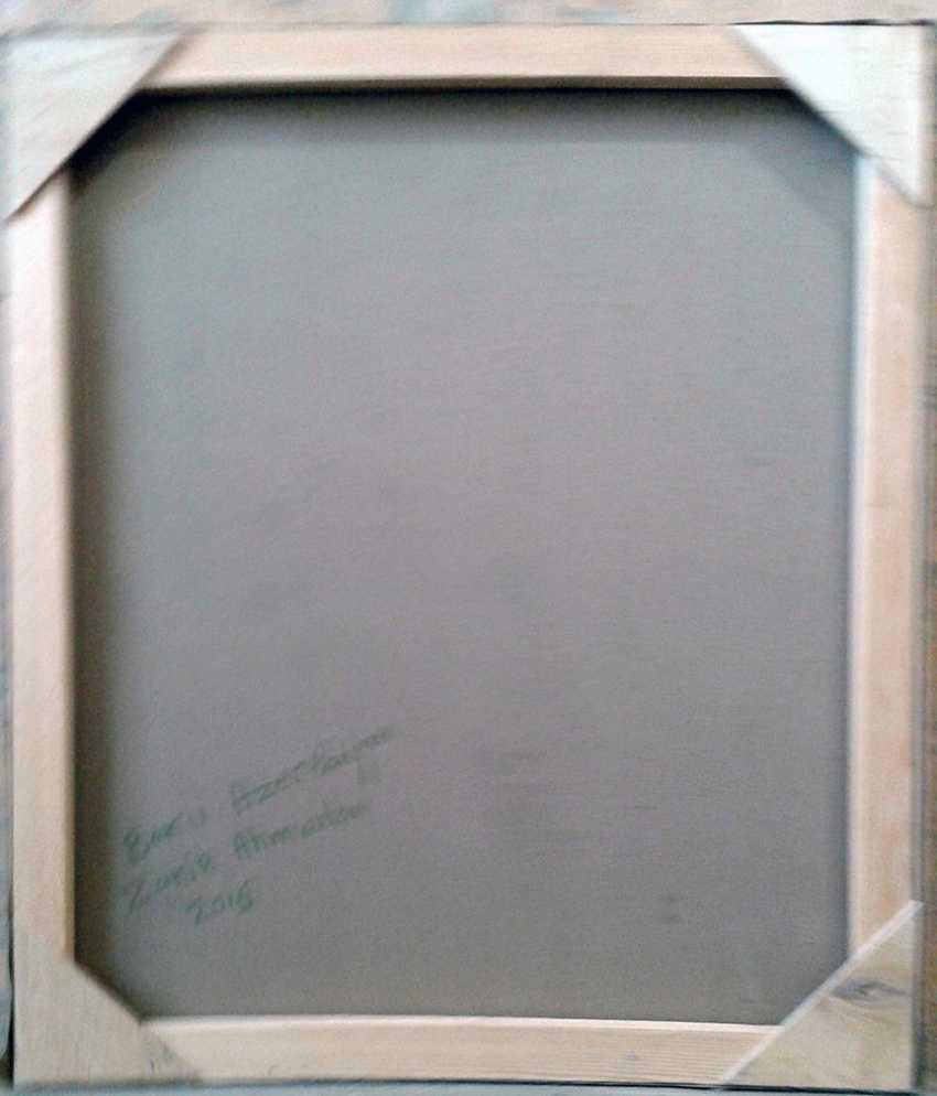 ZAKIR AHMEDOV. .Moonlight Nacht 2016year60x50cm Original-Gemälde Öl auf Leinwand 4000$ - Foto 3