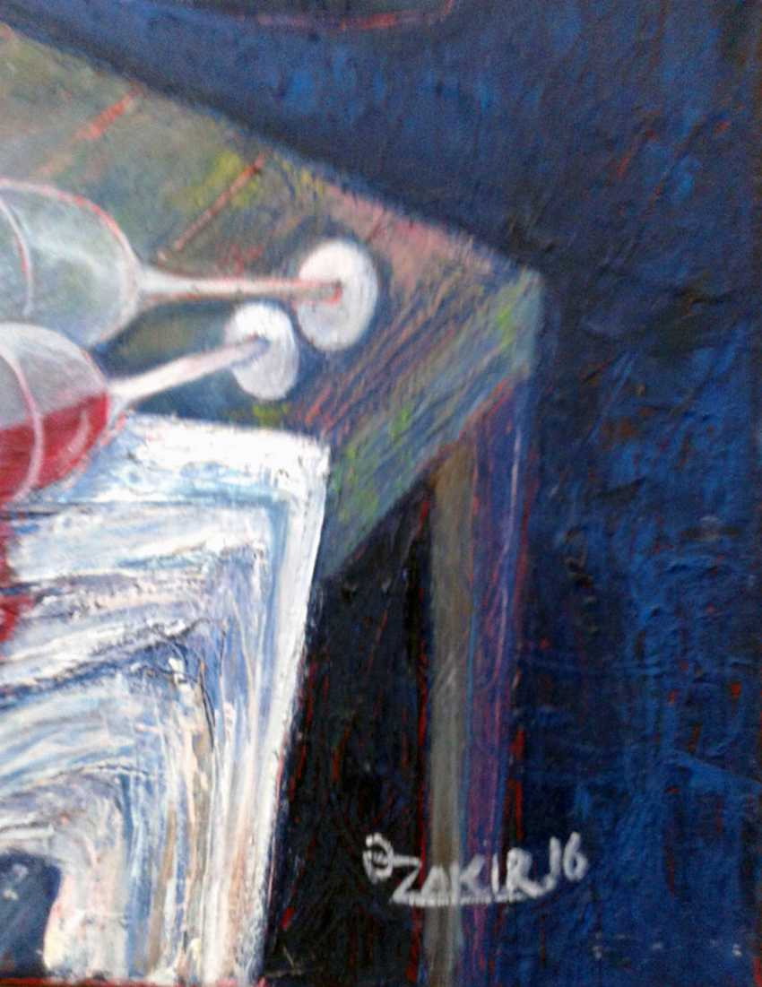 ZAKIR AHMEDOV. Cabaret 2016yea 60x50cmOriginal Painting Oil on Canvas 4500$ - photo 2